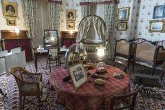 Île royale de Chambre d'Osborne de crèche de Wight images libres de droits