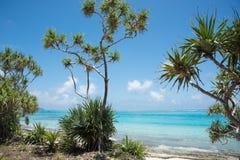 Île scénique de mystère : Vues côtières Photo stock