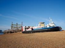 Île si wight à l'aéroglisseur de Portsmouth Photographie stock libre de droits