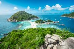 Île spectaculaire en Thaïlande Images libres de droits