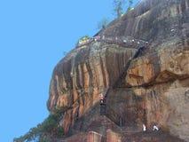 Île Sri Lanka (Ceylan), Dambulla, dessus de montagne Photographie stock
