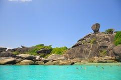 Île stupéfiante de Similan, Thaïlande Photographie stock