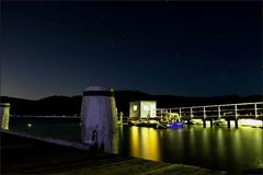 Île Sydney Australia de l'Ecosse de quai de Bells Photos libres de droits