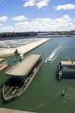 île Sydney de glebe de passerelle Photos stock