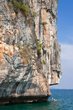 Île thaïe de mer, province de Trang, Thaïlande. Photos libres de droits