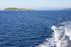 Île Thaïlande de baie de lomprayah de l'Asie myanmar et sud de la Chine Image libre de droits