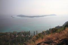 Île Thaïlande de Lipe Images stock