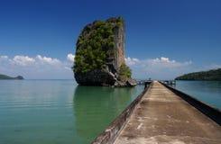 Île tropicale Photo libre de droits