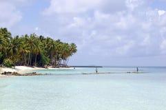 Île tropicale Images libres de droits