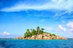 Île tropicale Photos libres de droits