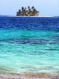 Île tropicale d'isolement Image stock