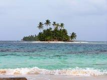 Île tropicale d'isolement Photo libre de droits