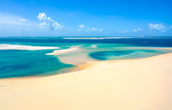 Île tropicale de Bazaruto Photo stock
