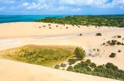 Île tropicale de Bazaruto Images libres de droits