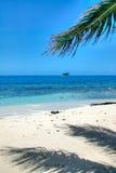 Île tropicale de Belize Images libres de droits