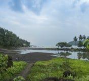 Île tropicale du Sao Tomé Image stock