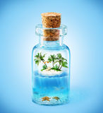 Île tropicale photos stock