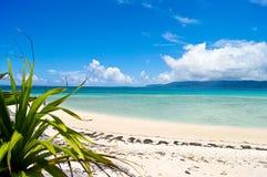 Île tropicale japonaise Image libre de droits