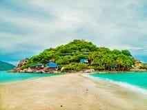 Île tropicale, Thaïlande Photographie stock