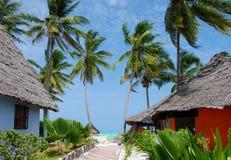 île Zanzibar de l'Afrique Images stock