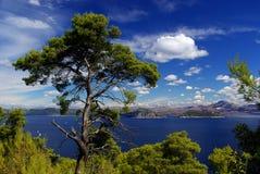 Îles 24 d'Elaphitische Image libre de droits