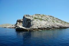 Îles 3 de Kornati Image libre de droits