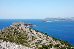Îles 8 de Kornati Photographie stock