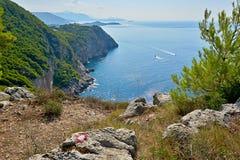 Îles adriatiques image libre de droits