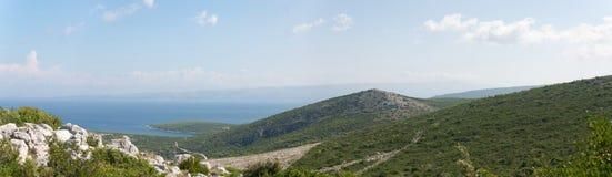 Îles adriatiques Photo libre de droits