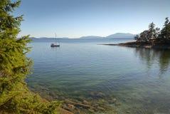 Îles Anchorage, Colombie-Britannique, Canada de Golfe photographie stock libre de droits