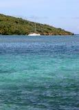 îles britanniques de côte vierges Photographie stock libre de droits
