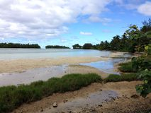 Îles Cook photographie stock