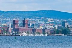 Îles d'Oslo Images libres de droits