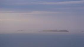 Îles dans l'horizon, Irlande Photographie stock
