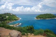 Îles dans l'océan Photographie stock
