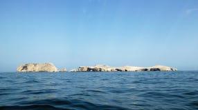 Îles de Ballestas dans Paracas Image stock