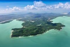 Îles de beauté Photo libre de droits