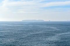 Îles de Berlengas en mer, Peniche, Portugal Images stock