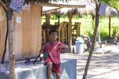 ÎLES DE GILI, INDONÉSIE - 22 MARS : Les îles de Gili sont de petites îles tropicales Photographie stock libre de droits