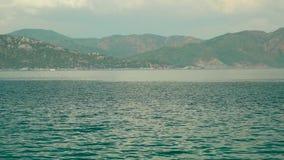 Îles de la mer Égée sur une promenade de mer banque de vidéos