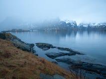 Îles de Lofoten photos stock