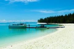 Îles de Mantanani Photos stock