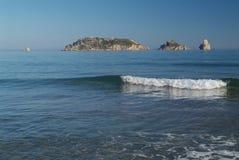 Îles de Medes en Espagne Photographie stock libre de droits