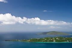 Îles de péninsule et de Hans Lollik Image stock