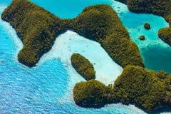 Îles de Palaos d'en haut Image stock