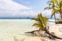 Îles de San Blas au Panama image libre de droits