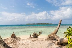 Îles de San Blas au Panama photo stock