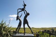 Îles de Scilly de jardin de sculpture photographie stock libre de droits