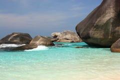 Îles de Similan, Thaïlande images stock