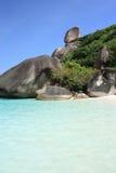 Îles de Similan, Thaïlande, Phuket Photo stock